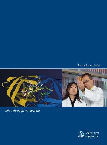 Annual Report 2006 - Boehringer Ingelheim