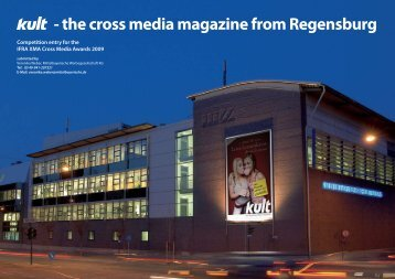 - the cross media magazine from Regensburg