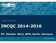 INCQC 2014-2016 - WAN-IFRA