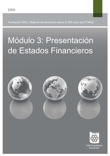 Presentación de Estados Financieros - International Accounting ...