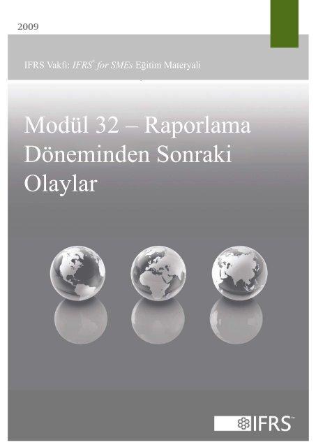 Modül 32 – Raporlama Döneminden Sonraki Olaylar - International ...