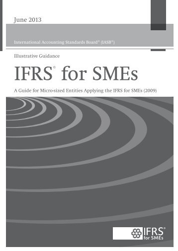 IFRS® for SMEs - International Accounting Standards Board