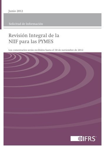 NIIF para las PYMES - International Accounting Standards Board