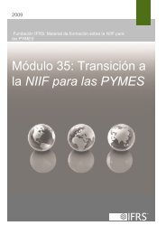 Transición a la NIIF para las PYMES - International Accounting ...