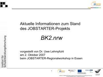 Projekt BK2.nrw - IFS