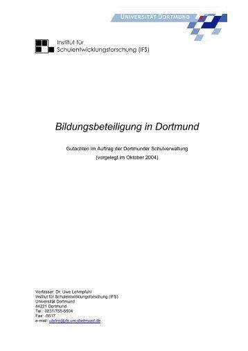 Bildungsbeteiligung in Dortmund - IFS