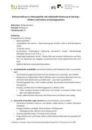 Diskussionsforum 2: Heterogenität und individuelle Förderung im ...