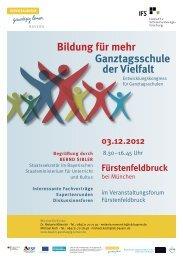 Ganztagsschule der Vielfalt - Ganztägig Lernen - Bayern