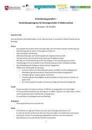 Veränderung gestalten – Entwicklungskongress für ... - IFS