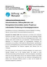 28.10.2009 - Pressemitteilung - IFS