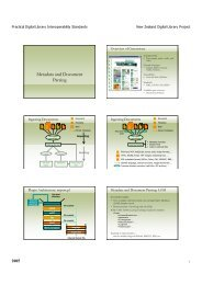 Metadata and Document Parsing - Information & Software ...