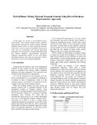 Mining Maximal Frequent Itemsets Using Hybrid Database ...