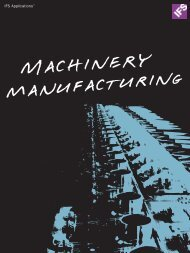 Machinery Manufacturing - IFS