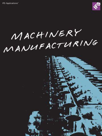 Machinery Manufacturing - IFS
