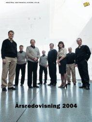 Årsredovisning 2004 - IFS