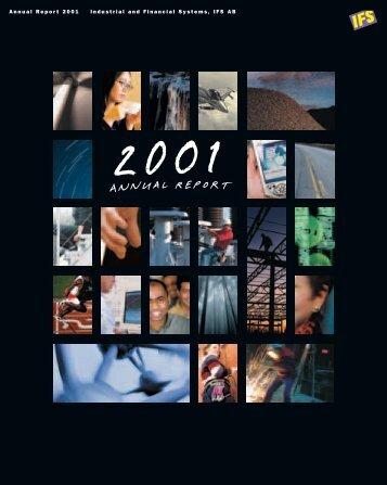 IFS | Annual Report 2001