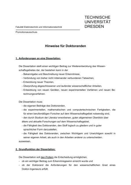 Aufbau einer dissertation gmt master ii kaufen