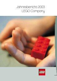Jahresbericht 2003 LEGO Company