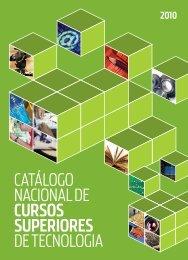 Catálogo NaCioNal de Cursos superiores de teCNologia - IFTO