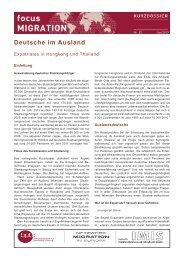 Deutsche im Ausland - Bundeszentrale für politische Bildung