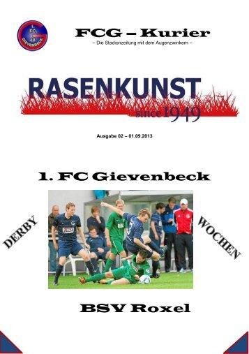Ausgabe 02 Roxel.pdf - 1. FC Gievenbeck