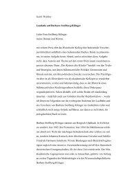 Laudatio von Gerrit Walther, Historische Kommission bei der ...