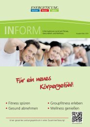 Energeticum Club-Broschüre