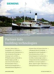 Kundenmagazin Partner Info November 2011 - Siemens