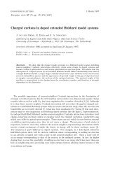 Charged excitons in doped extended Hubbard model systems