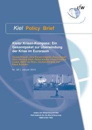 PDF (Kiel Policy Brief 58) - Institut für Weltwirtschaft