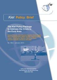 Kiel Policy Brief 58a - Institut für Weltwirtschaft