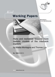 Hubs and resilience: towards more realistic models of the interbank ...