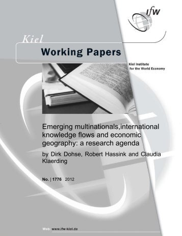 Emerging multinationals, international knowledge flows and ...