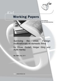 Surviving the crisis: Foreign multinationals vs domestic firms