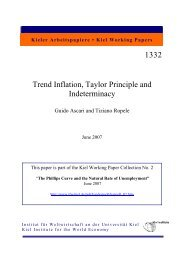 Trend Inflation Taylor Principle and Indeterminacy.pdf - Institut für ...