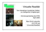 Virtuelle Realität ... (Latoschik) - IFZN