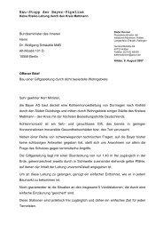 Bau-Stopp der Bayer-Pipeline - IG Erkrath