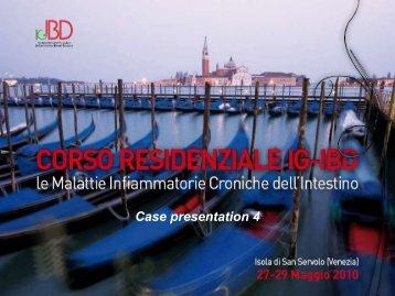 Caso Clinico - IG-IBD