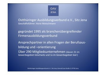 Präsentation - Interessengemeinschaft Gewerbegebiete Jena-Süd ...