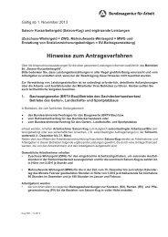 Kug 306 - Hinweise zum Antragsverfahren - Bundesagentur für Arbeit