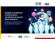 Flyer (PDF, 2,5 MB) - Initiative Gesundheit & Arbeit