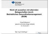 Download der Präsentation (PDF, 680 KB) - Initiative Gesundheit ...