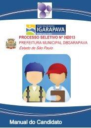 processo seletivo nº 01/2013 - Igarapava