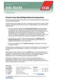 DGB Info Recht 13.10.2011 (PDF, 584 kB ) - ver.di: Recht