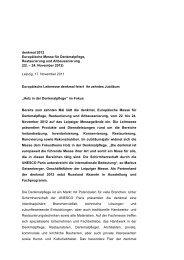 denkmal 2012 Europäische Messe für Denkmalpflege ...