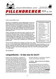 Pillendreher Ausgabe 115 April 2008 - IGBCE-Biberach