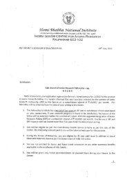 offer letter - Indira Gandhi Centre for Atomic Research