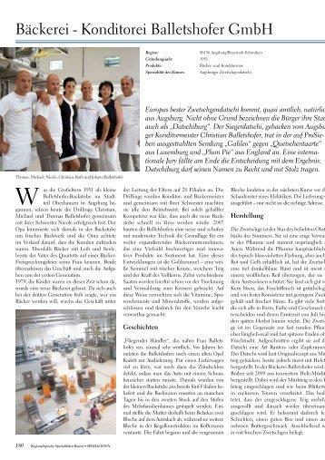 Bäckerei - Konditorei Balletshofer GmbH - Kir Royal