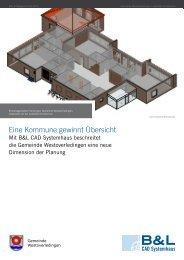 Gemeinde Westoverledingen - B & L CAD Systemhaus GmbH