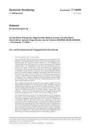 und Durchsetzung der Fluggastrechte-Verordnung - Deutscher ...